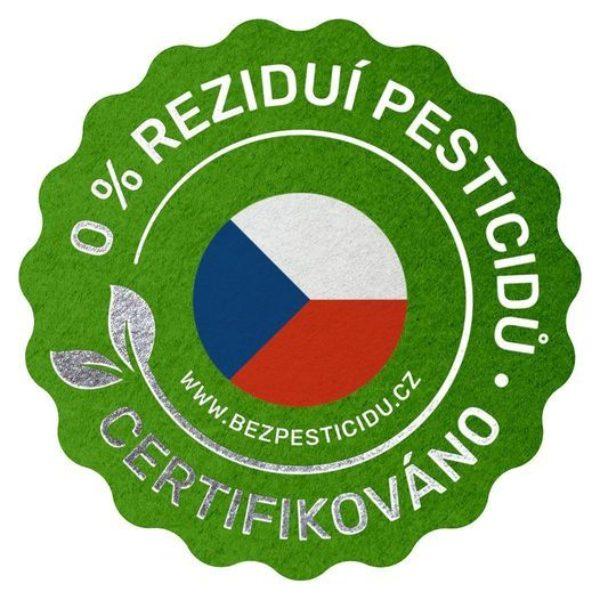 Ceritifikace produkce - bez pesticidů