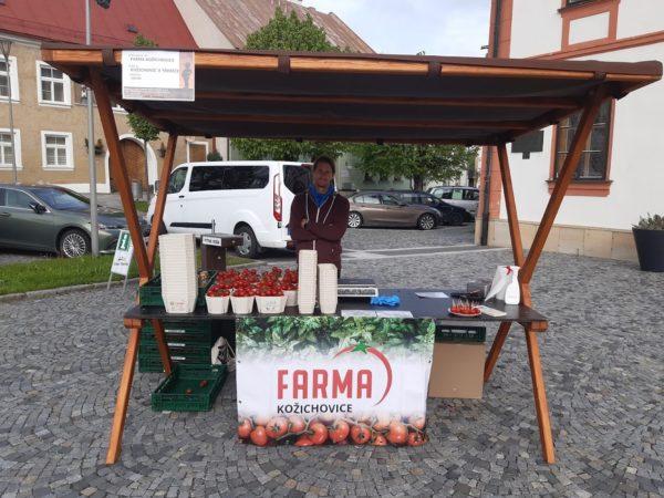 Farmářské trhy na Vysočině